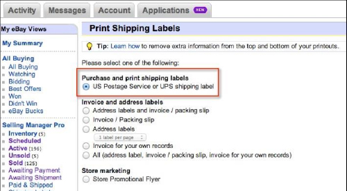 How To Purchase A Shipping Label How To Combine Two Or More Orders For Shipping In