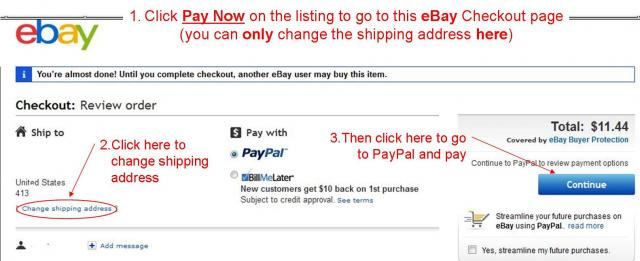 how to change email address ebay