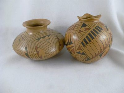 native vases