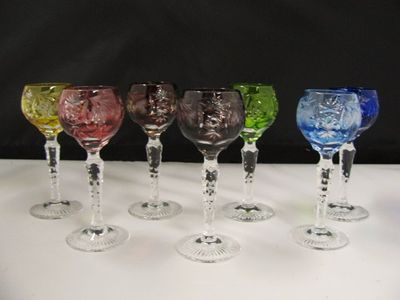 Culver glass and Czech Glasses 003.JPG