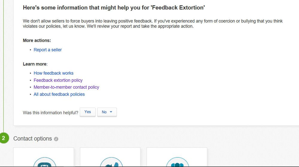 how to leave negative feedback on ebay for seller