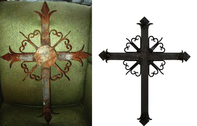 Help with this wrought iron cross - grave marker?  - Page 2