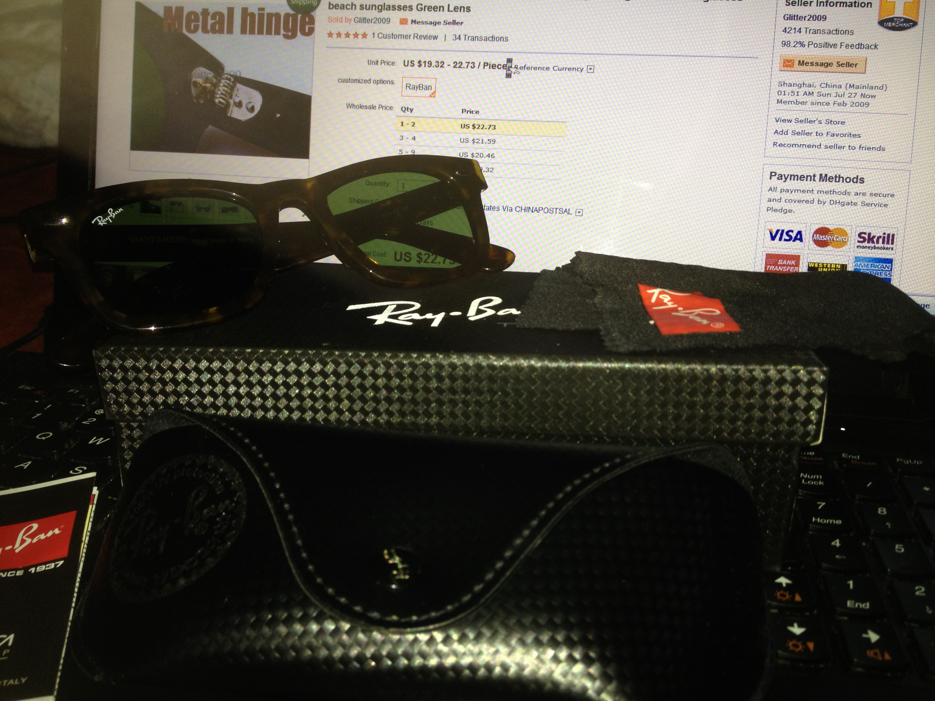 Ray Ban On Ebay Fake Nails « Heritage Malta