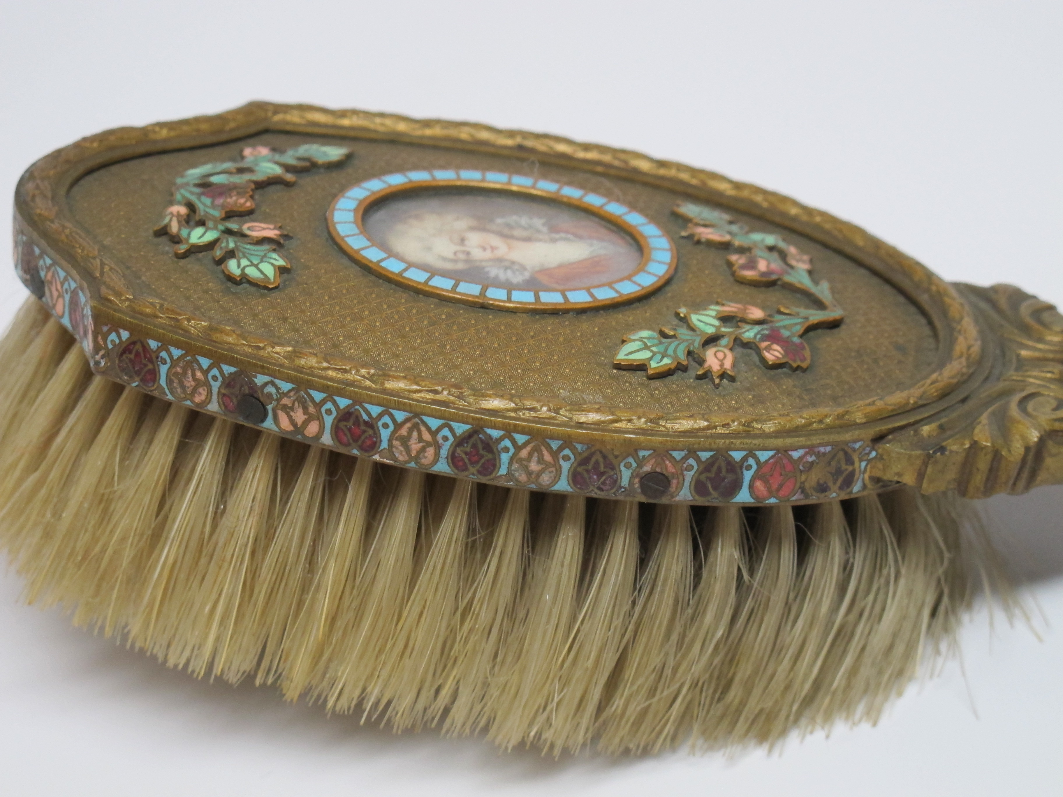 Old fashioned hair brush