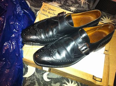 Shoes from Pitney Bowes - 15th OCT 2013.JPG