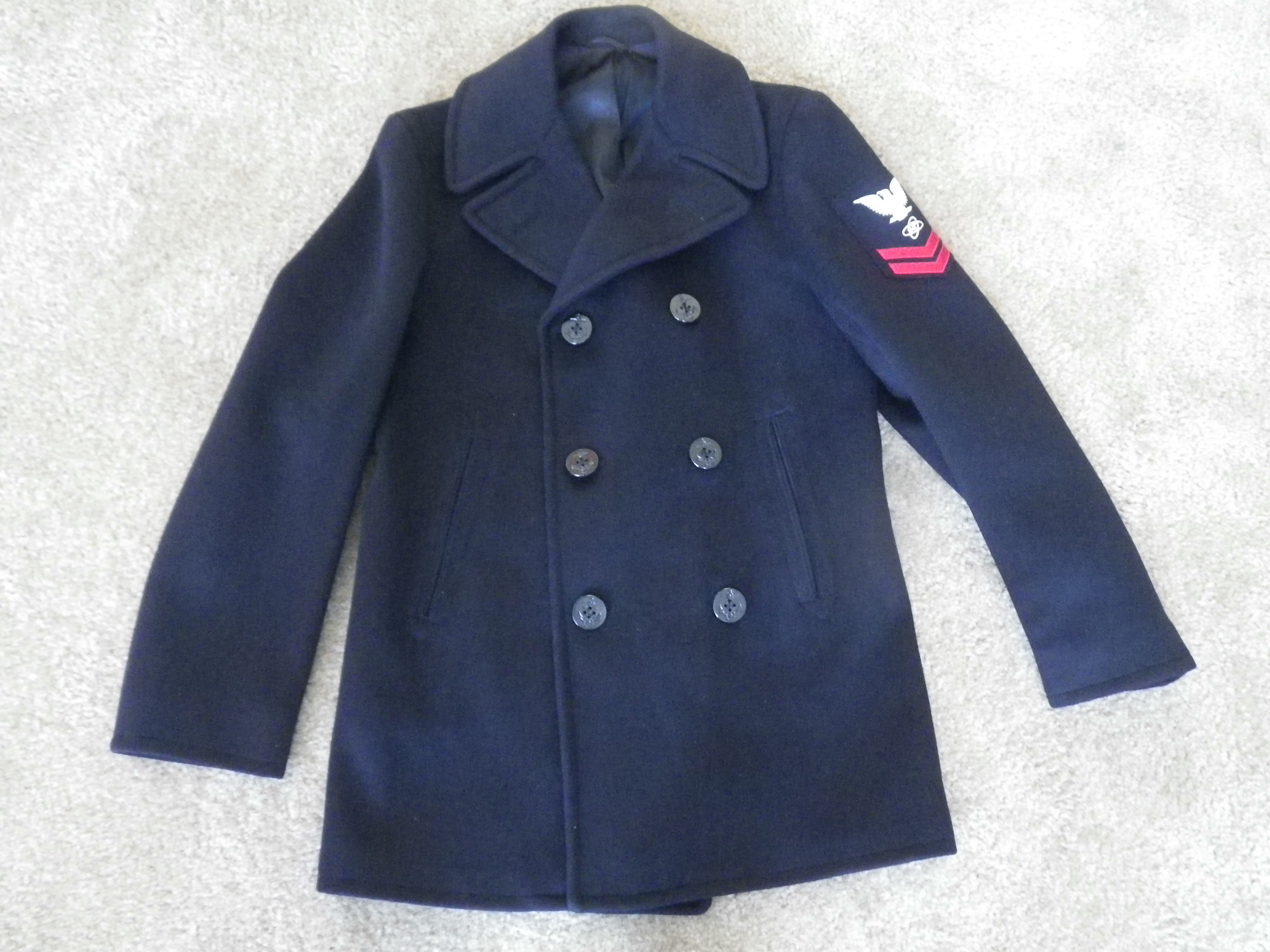 Needing Help dating a NAVY Pea Coat Please... - The eBay Community