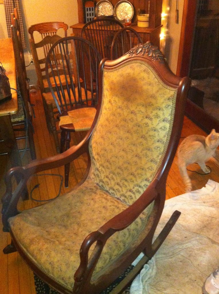 Antique Gooseneck Rocking Chair The Ebay Community