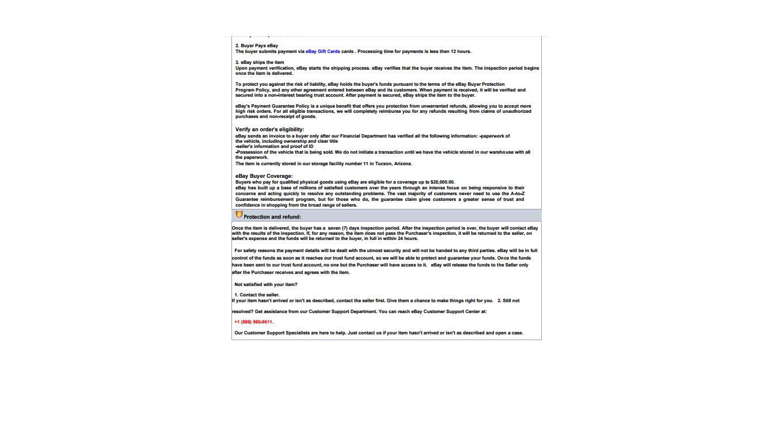 Ebay Motors Payment Invoice The Ebay Community