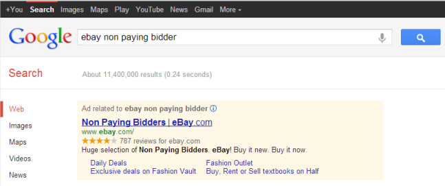 none paying bidders ebay auction paypal scam negative feedback seller protection worthless