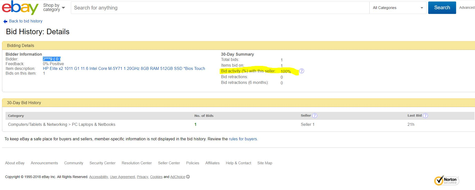 Fake Or Ghost Bidding By Seller Drive Up Price Page 3 The Ebay Community