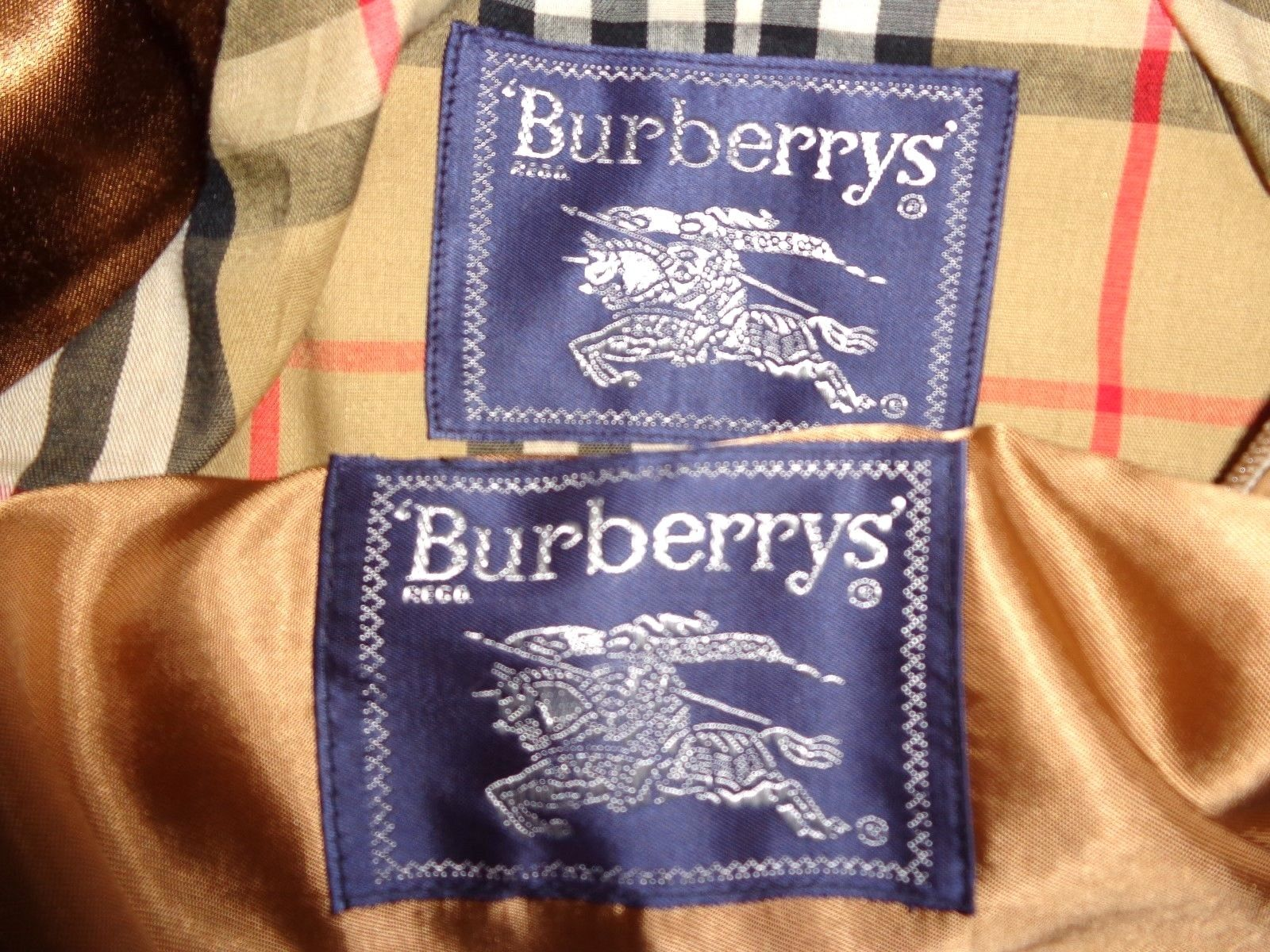 Real or Fake Burberry Trench  - The eBay Community c78948ff47b2
