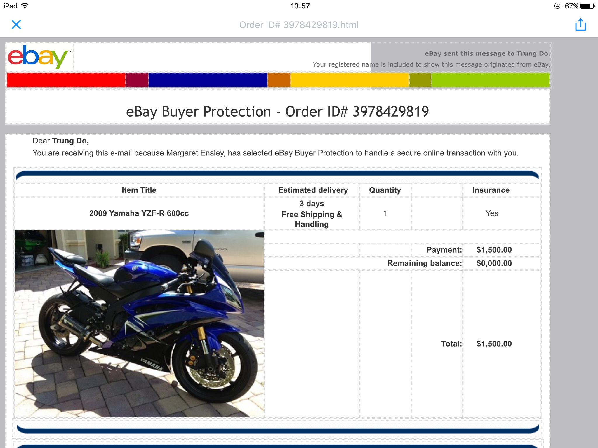Ebay shipping company