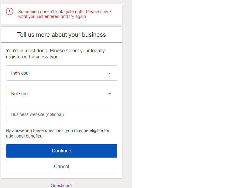 Tell Us More About Your Business The Ebay Community