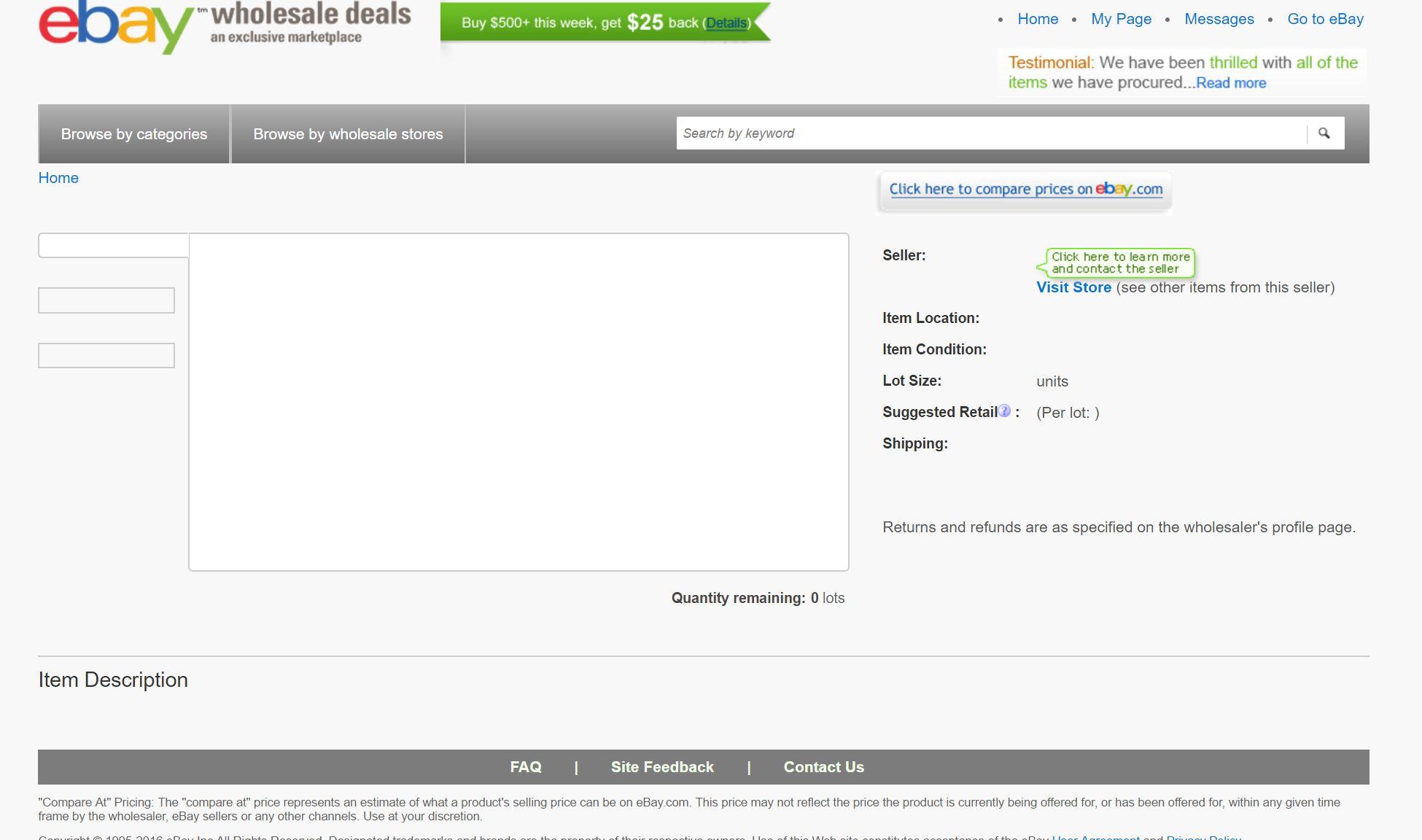 Ebay Wholesale Site The Ebay Community