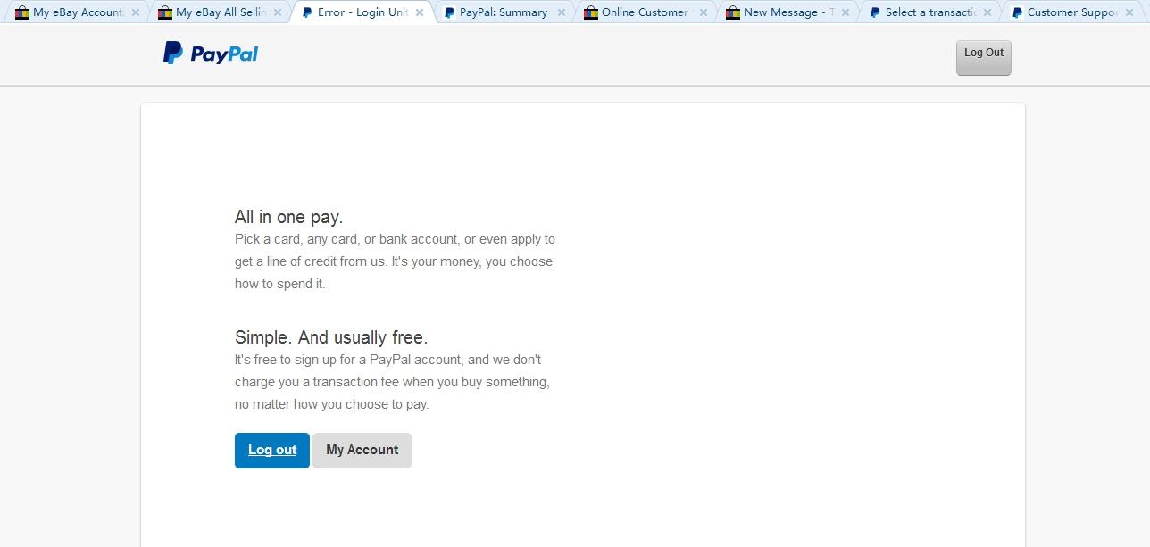 Ebay Mastercard Login >> My Ebay Login Sign Signs Your Ebay Account Has Been Stolen