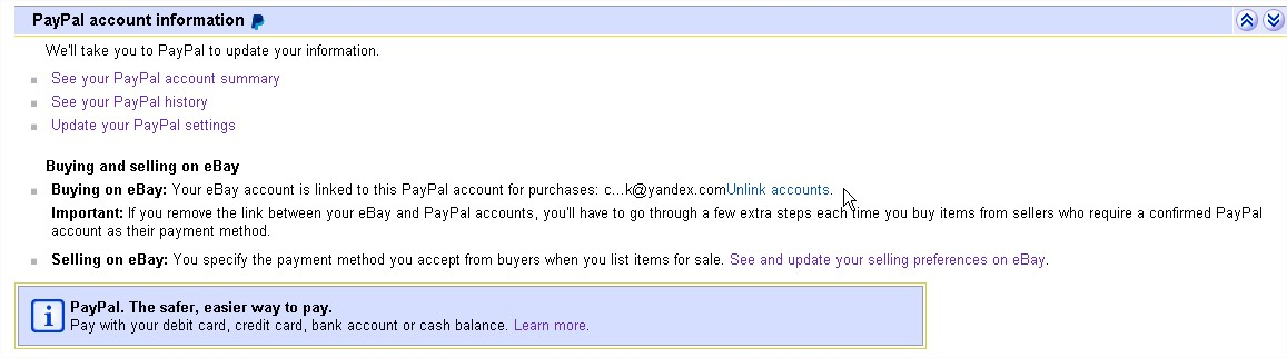 hacked paypal, need to unlink - The eBay Community