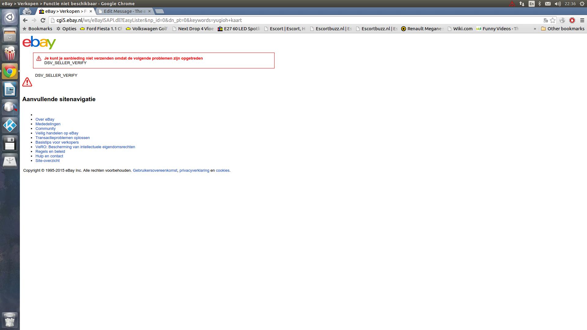 Dsv Seller Verify The Ebay Community