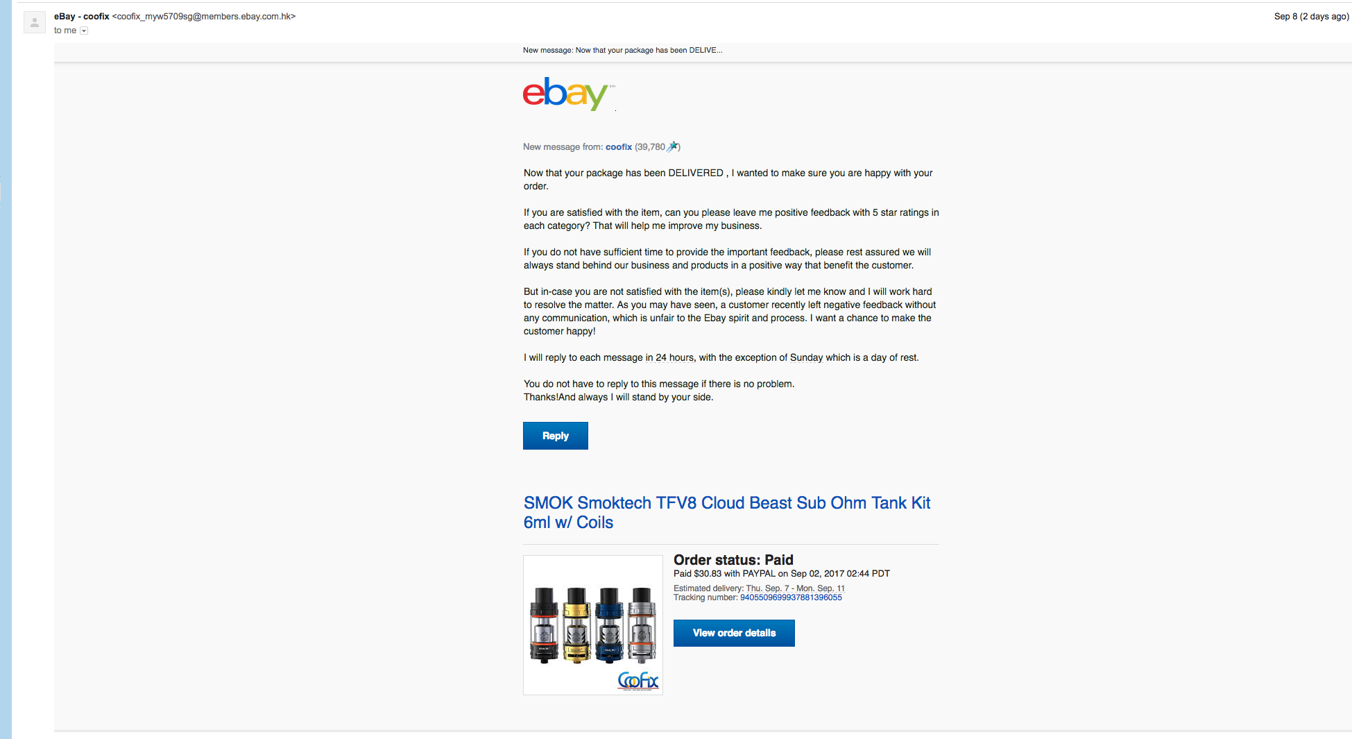 Can T Reply To Seller From Guest Account The Ebay Community
