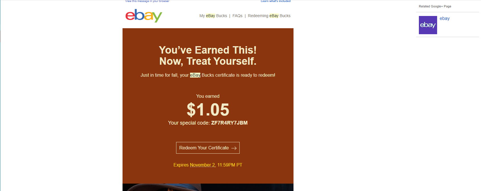 Ebay Bucks Certificate Has Wrong Amount The Ebay Community