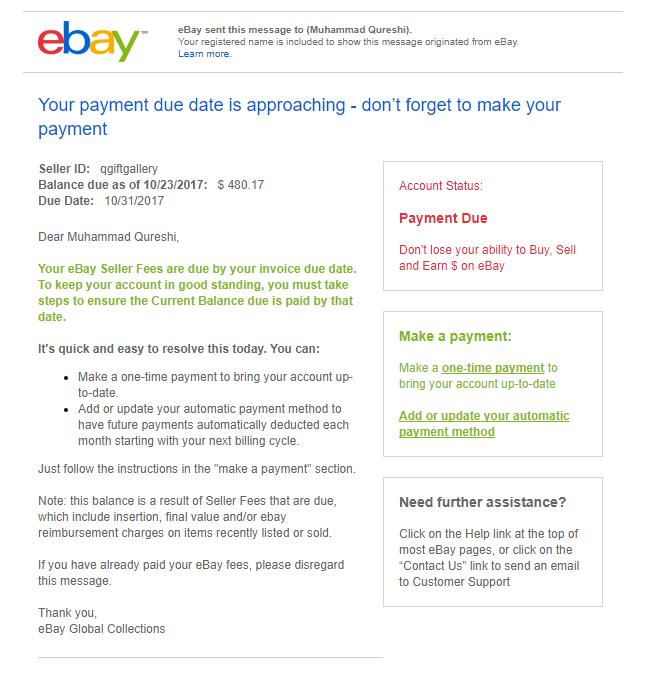 Invoice Adjustment The Ebay Community