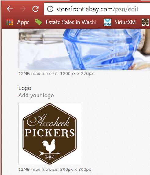 Store Logo Suggestion The Ebay Community