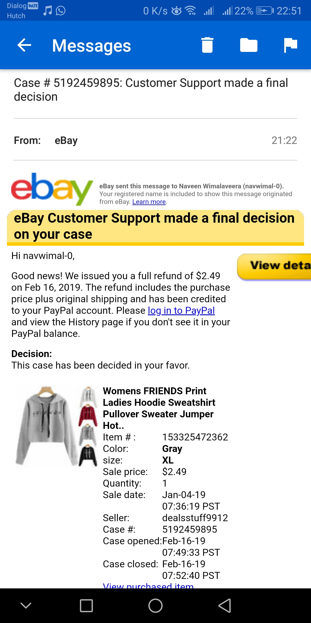 Top Five Ebay Refund Not Showing In Paypal - Circus