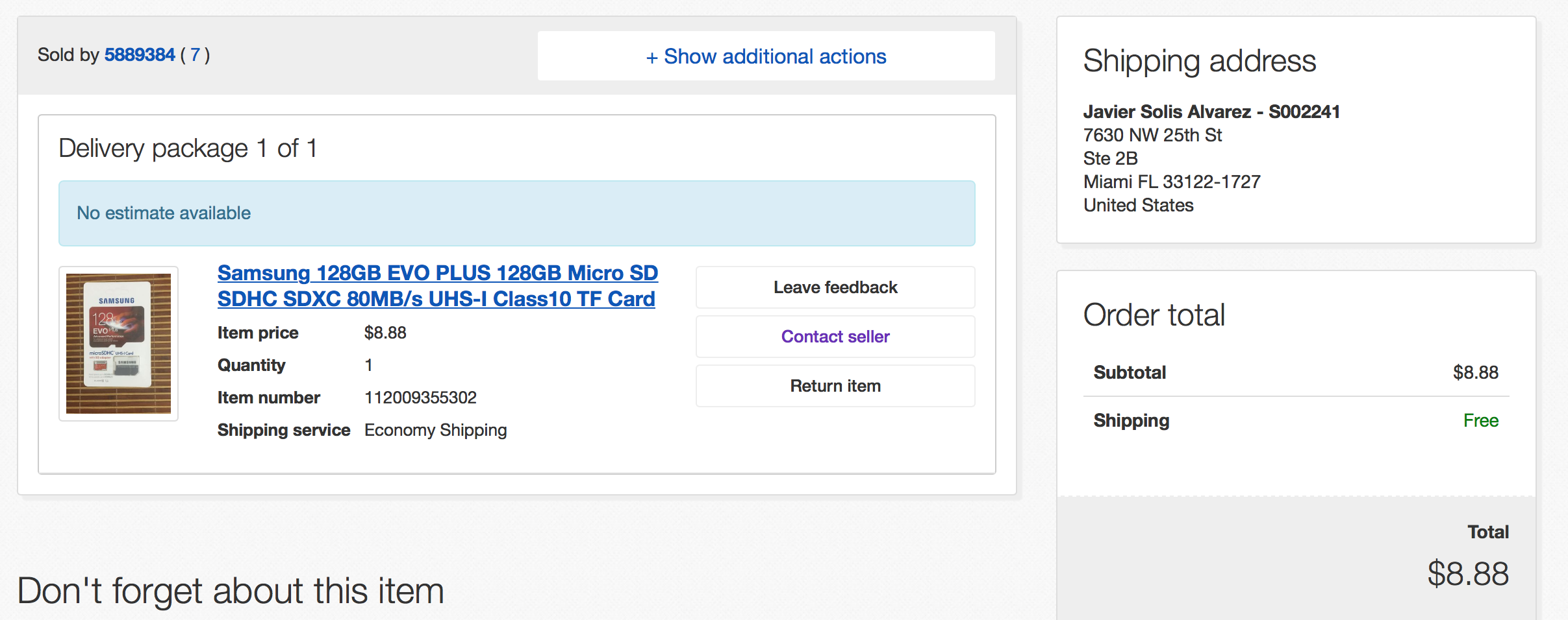 Http Vod Ebay Com Vod Fetchorderdetails Itemid 1 The Ebay Community