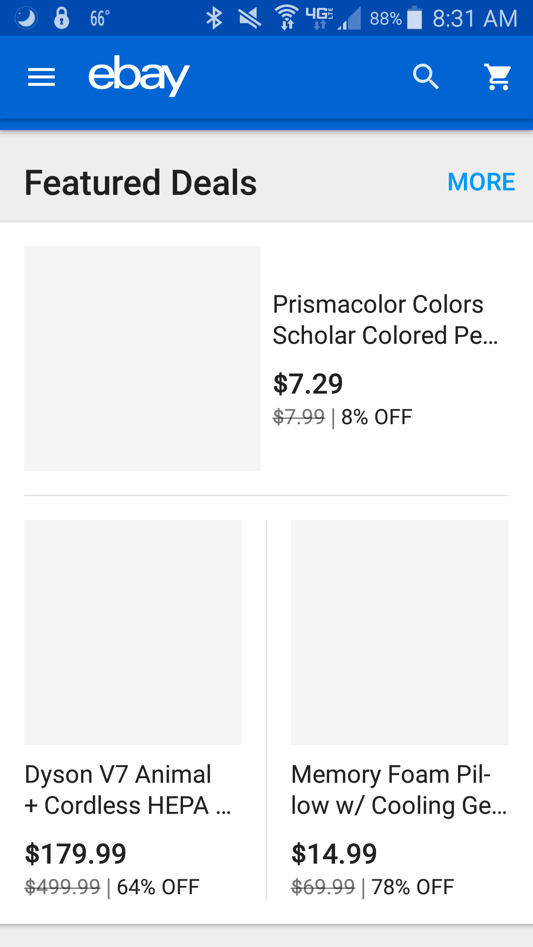 Pictures no longer show up in app for any listings - The eBay Community