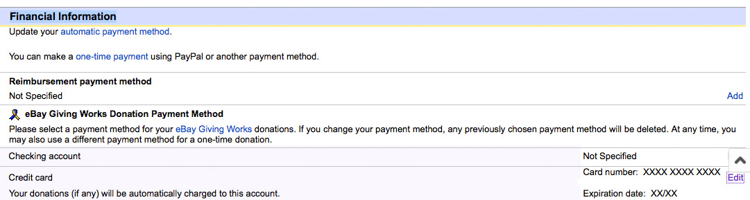 How Do I Remove My Credit Card From Ebay The Ebay Community
