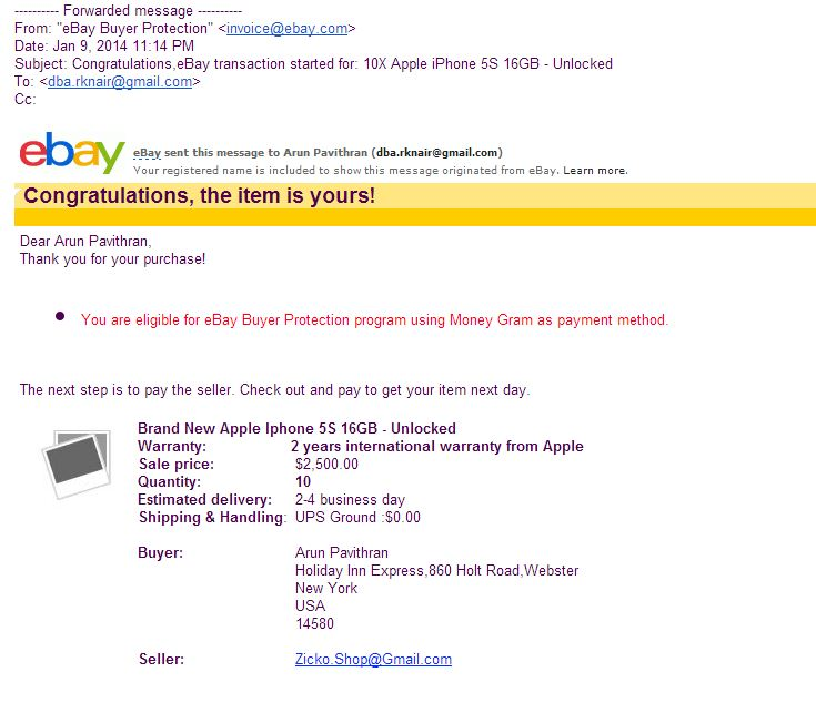 HiIs There Anything Like Ebay Invoice The EBay Community - Ebay invoice payment