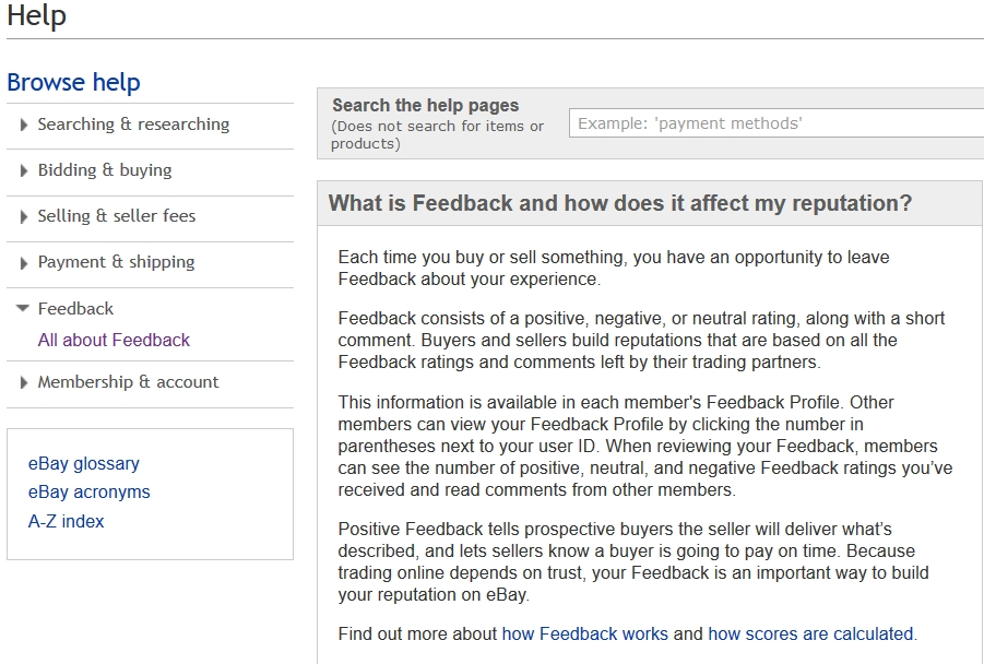 Re Current Feedback Test Page 9 The Ebay Community