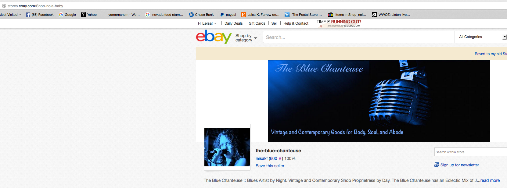 I M A Dunce Help Me Change My Store Url More P The Ebay Community