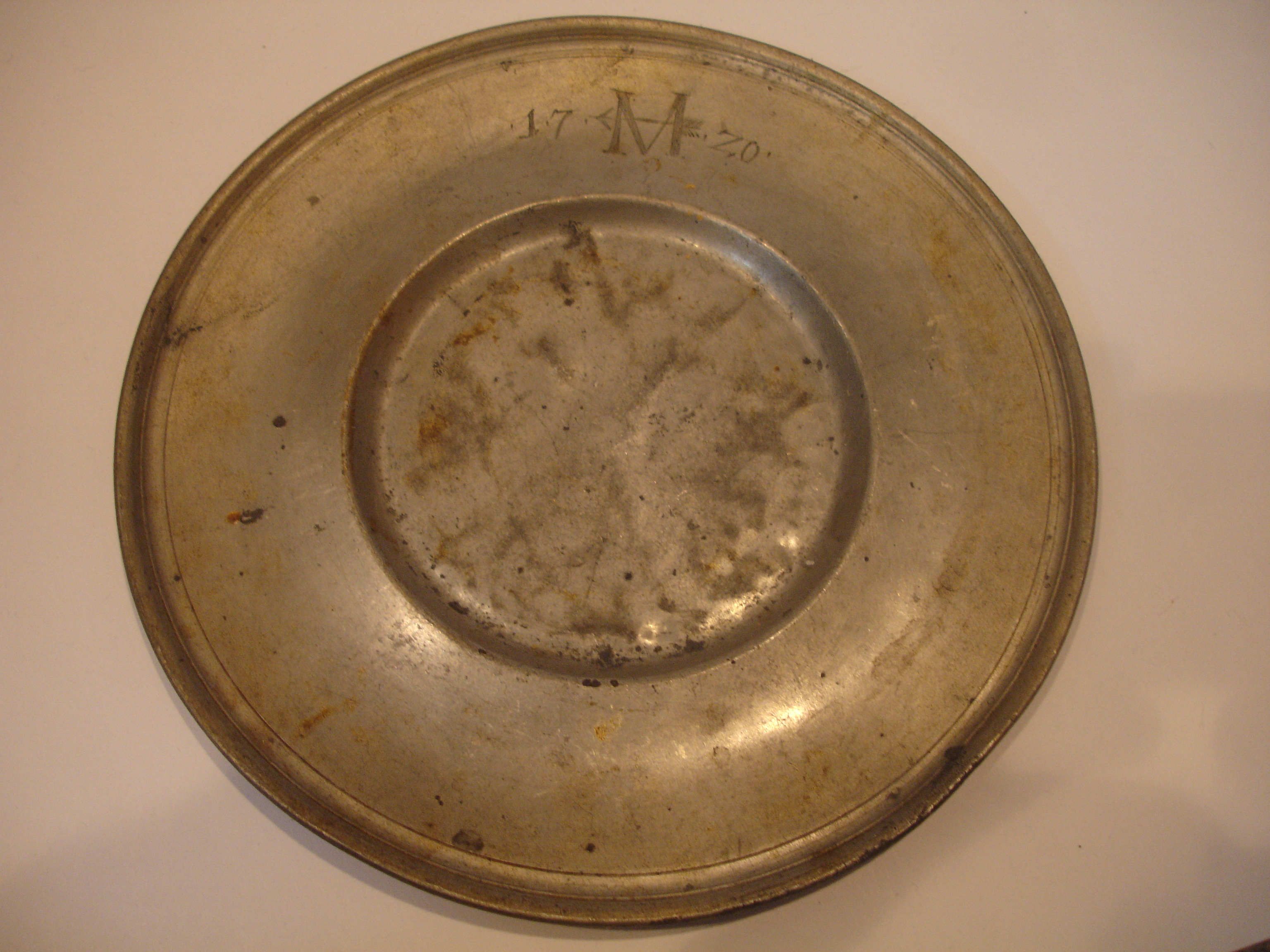 Help Needed to Identify Old Plate (1720?) and Valu... - The eBay ...