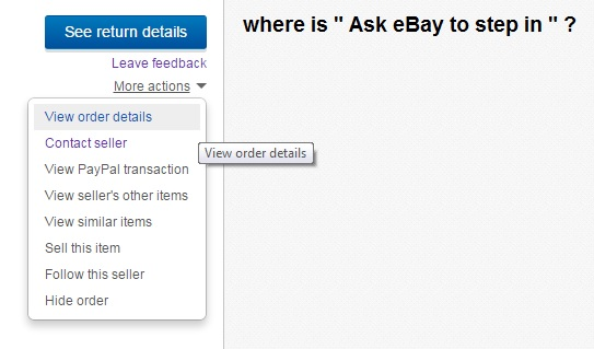 Solved How Do I Ask Ebay To Step In The Ebay Community
