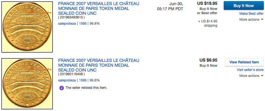 Solved Seller Relisted Item With Higher Price After I Gav The Ebay Community