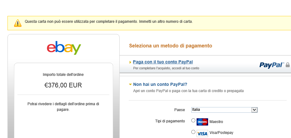 how to buy from ebay without credit card