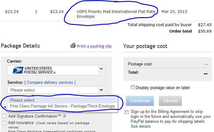 Can't print international shipping labels - new po    - Page 5 - The