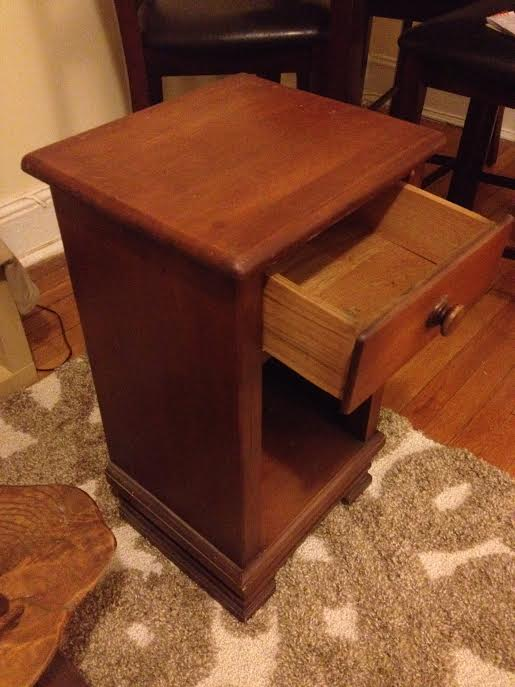 Solved: 1930s 1950s Kling Furniture Maple Night Table?   The EBay Community