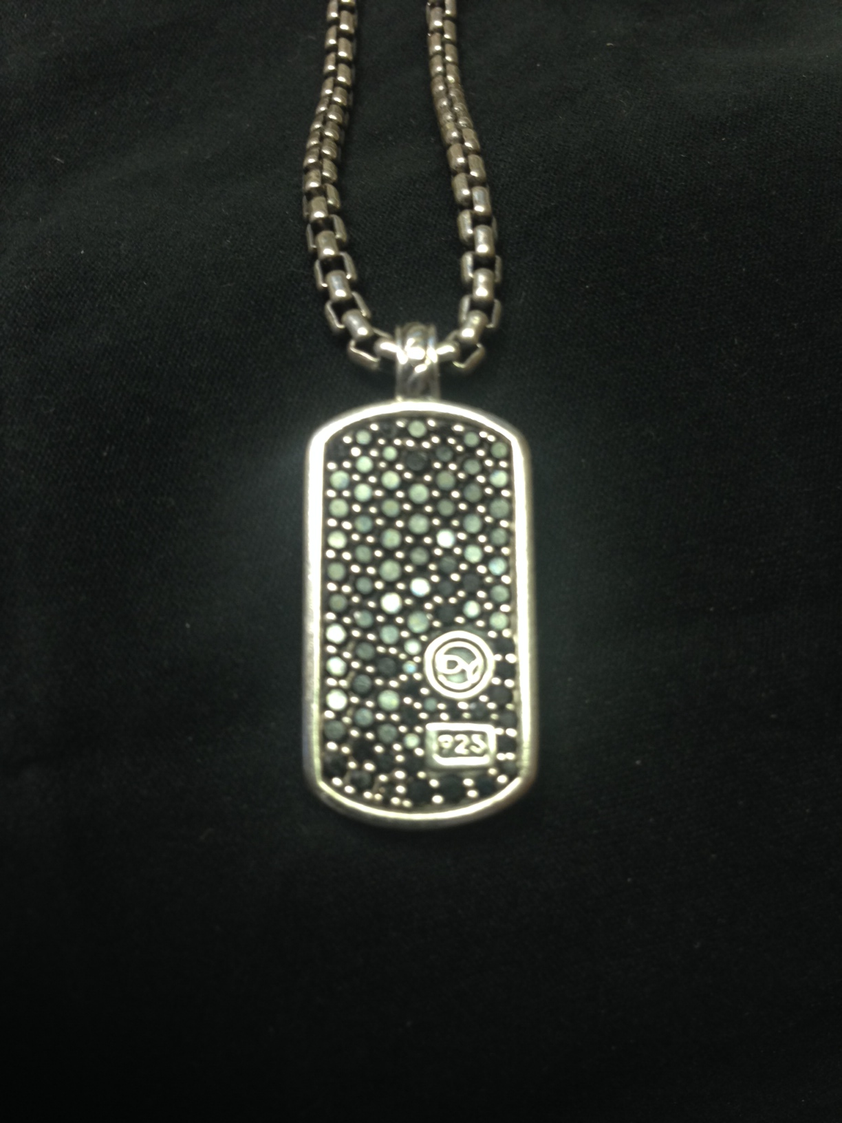 Fake David Yurman Dog tag? Please help me authenti... - The eBay ...