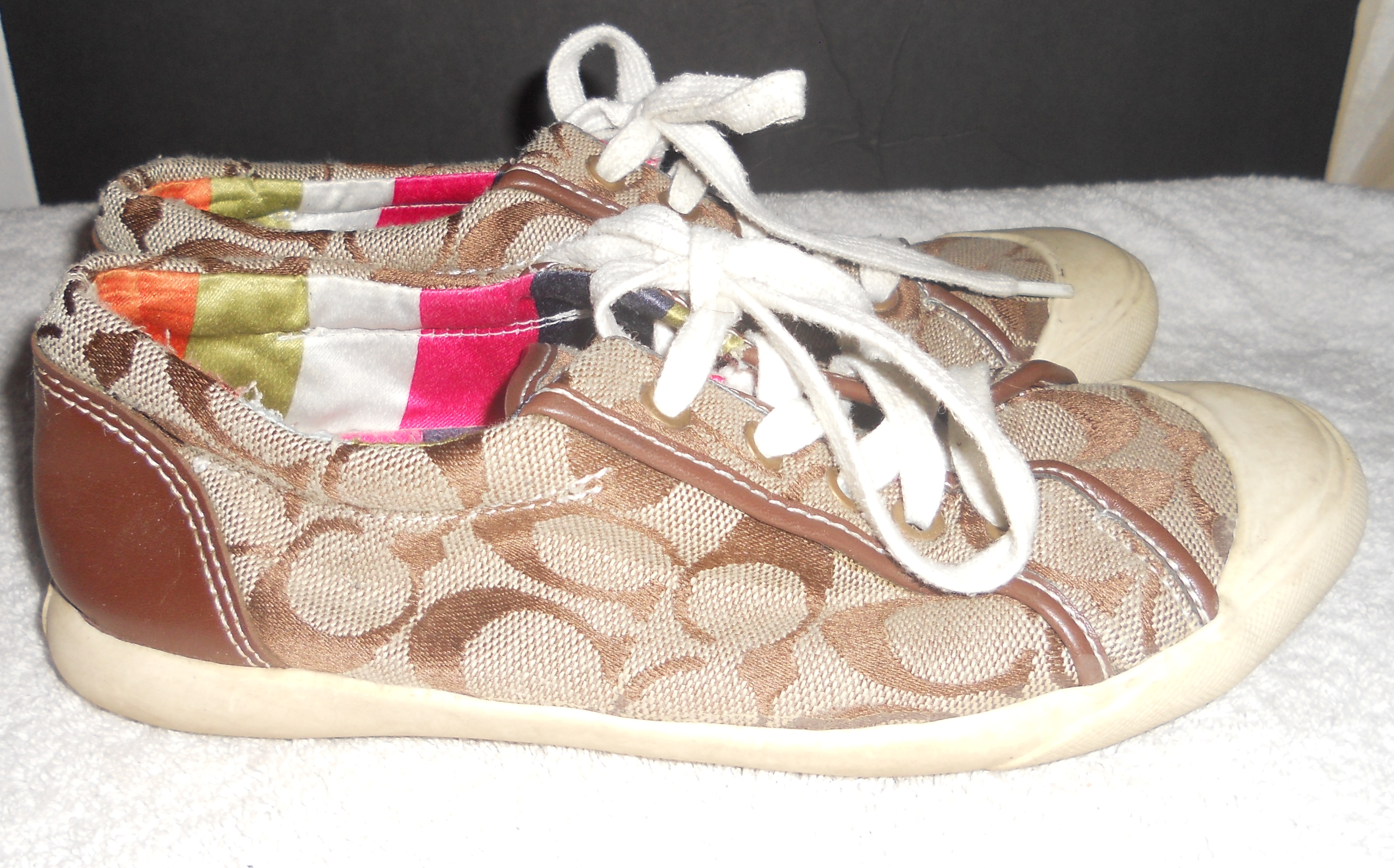 Solved Coach Barrett Sneakers Real or Fake The eBay munity