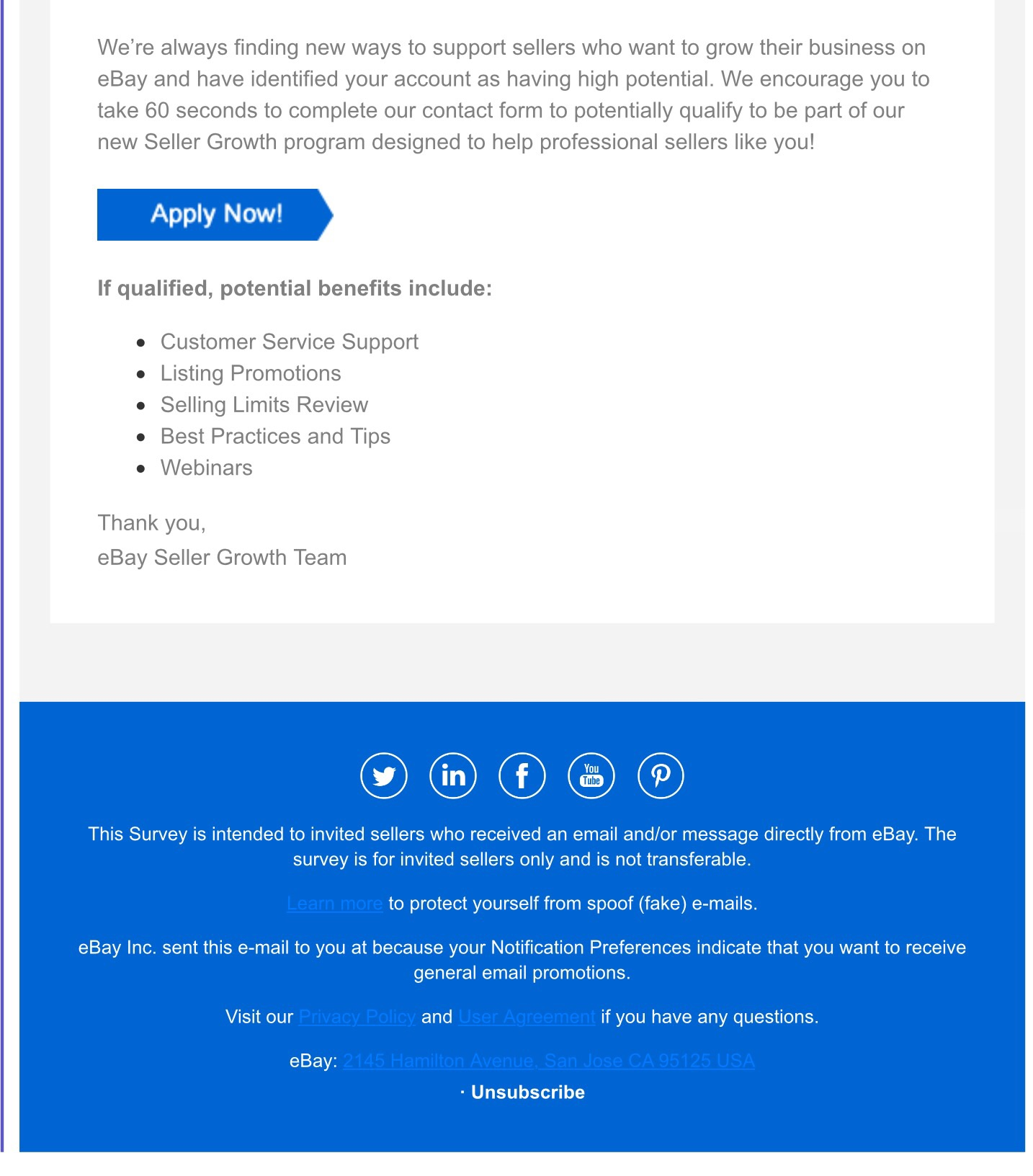 Ebay Seller Growth Team Is This For Real The Ebay Community