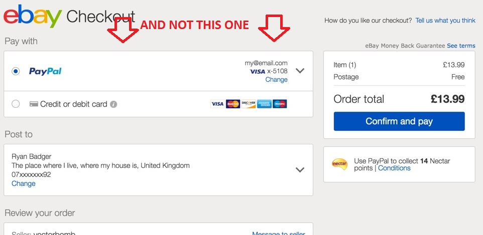 Ebay No Longer Redirects Me To Paypal For Payment The Ebay Community
