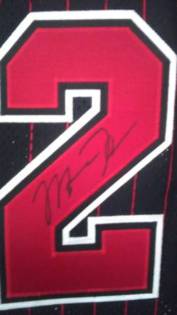 finest selection 3298f 0f858 Real or Fake Michael Jordan Autograph on Jersey? - The eBay ...