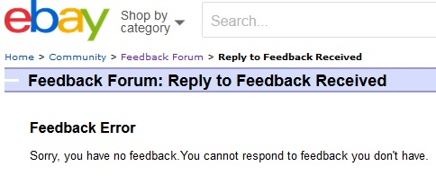 Solved Feedback Bug Reported Can T Reply To Feedback The Ebay Community