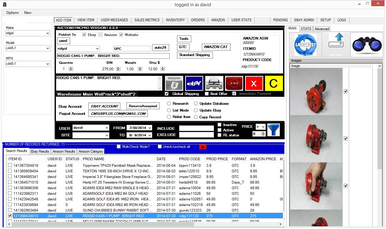 Custom Ebay Listing Software I Am Developing The Ebay Community