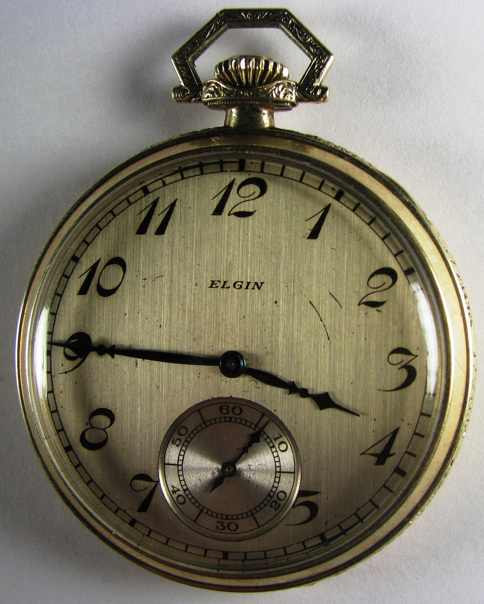 value of my 1924 14 kt gold elgin pocket watc the