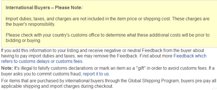 a2f8b13a9ee International buyer requesting i report value of i... - The eBay ...