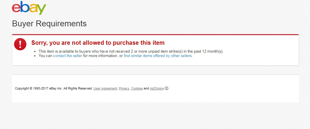 Solved Cant Bid The Ebay Community