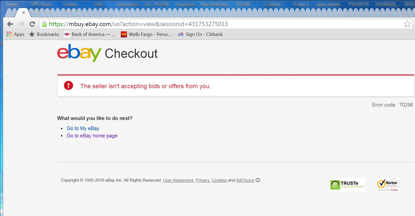 Seller Blocks Messages To Improve Feedback Score The Ebay Community