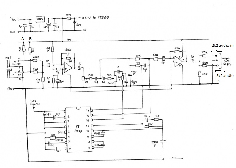 Solved: PT2399 NE5532 Digital Microphone Amplifier Board K ... on